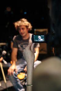 Photo de Paloo lors de l'interview pour Nilprod
