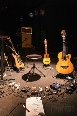 Photo des instruments utilisés par Paloo dans Swallow
