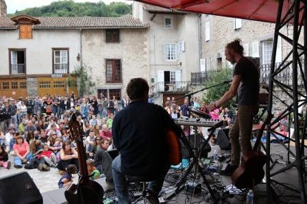 Photo de Swallow en concert aux Apéros Musique de Blesle